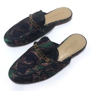 Marc Fisher Whiley Fabric Mules
